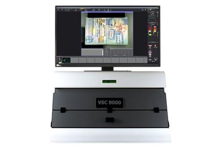 Vérification de documents VSC8000