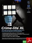 Brochure Crime-Lite XL