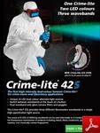 Brochure de la Crime-Lite 42s